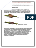 PE ReviewStructure Mechanics of Materials Tension and Compression