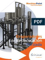 Evaporadores Recirculacion Forzada Machinepoint Food Technologies