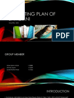 Marketing Plan of Jamdani