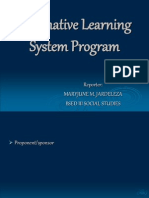 alternativelearningsystemprogram-120126022614-phpapp01