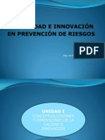 Calidad e Innovacion en PR 3