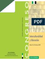 Interculturalidad y Educacion