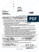 Save-A-Life Foundation, Articles of Voluntary Dissolution, State of IL, 9/17/09