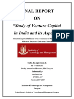 207993505 Venture Capital Project Report