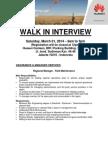 Huawei Walk in Interview - Jakarta Mar 01, 2014