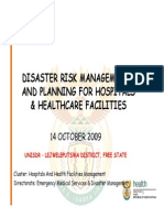 Hospital Disaster Mgt Very Useful One