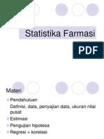 Statistika Farmasi P1, Modif Annas