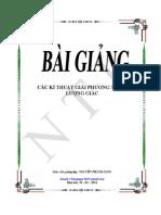 Bai Giang Cac Ki Thuat Giai Pt Luong Giac