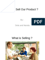 How to Sell Our Product LCC 1