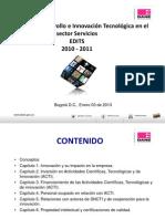 Estadîsticas de innovación 2010-2011 DANE