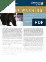 2009 Winter Warning Volume 10 Issue 1