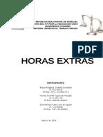 Trabajo Grupal Hora Extra de Derecho Al Trabajo Individual
