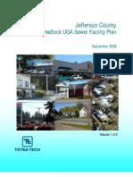Port Hadlock Sewer Facility Plan 0908