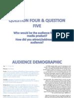 Question Four & Question Five