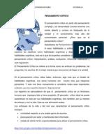 actividad 14- pensamiento critico