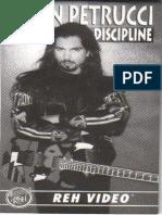 Guitar Lesson John Petrucci - Rock Discipline - Tab Book