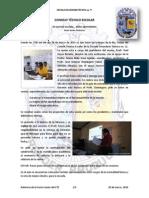 Relatoría Sexta Sesión del Consejo Técnico Escolar