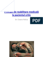 1.Principii de reabilitare medical-â la pacient ul critic