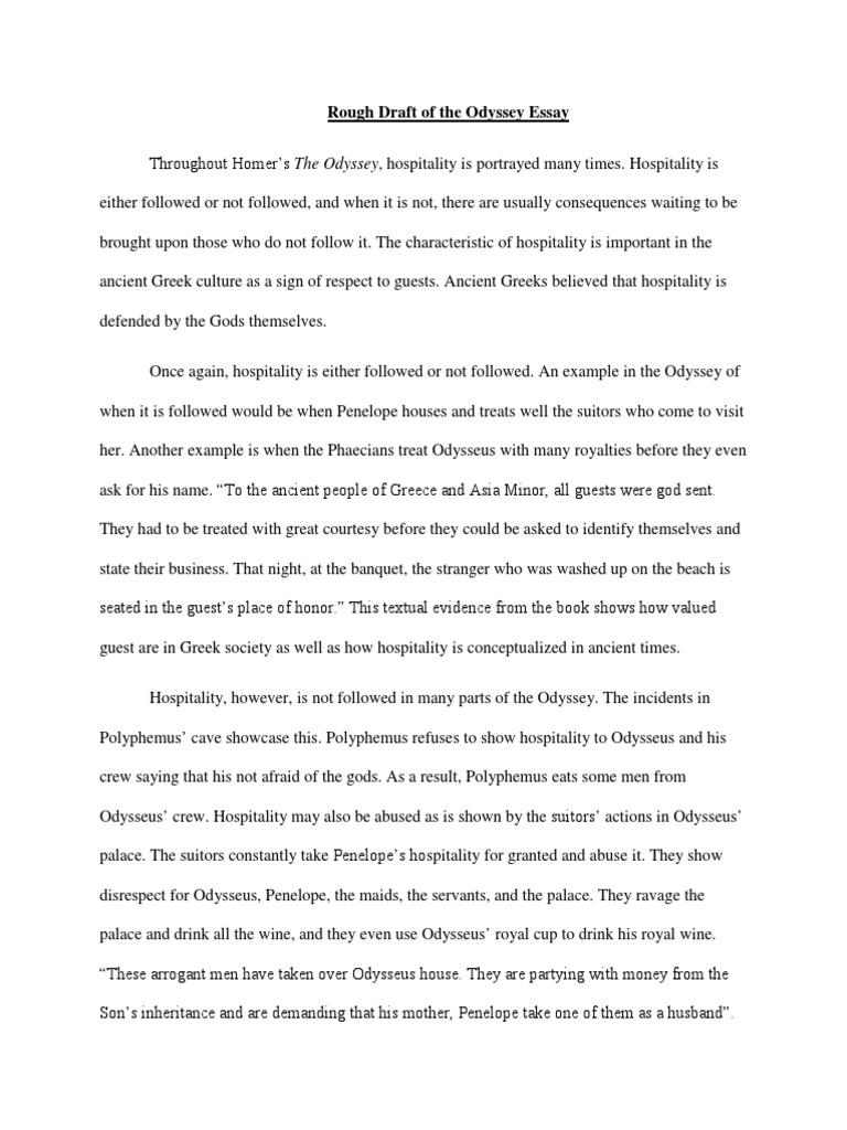 odysseus and penelope summary