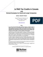 Introduction to R&D Tax Credits in Canada