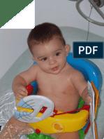 Manejo del bebé en el agua con seguridad