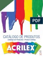 Catalogo Acrilex 2013 Tintas