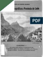 Articulos Geograficos Sobre La Provincia de Leon Galindo