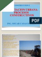 Construccion i - Cap Vii- Procesos Constructivos- Habilitacion Urbana