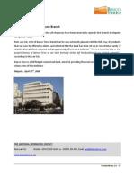 Banco Terra Opens Maputo Branch