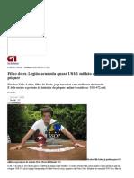 G1 - Filho de ex-Legião acumula quase US$ 1 milhão em prêmios de pôquer - notícias em Rio de Janeiro