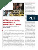 GE Demostratres LM600