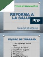 Reforma a Salud