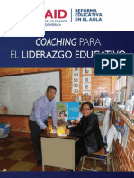 Coaching Liderazgo Educativo