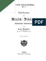 Katechismus des Musik-Diktats (Riemann, Hugo)