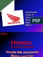 Honda Marketing Strategy