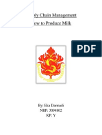 How to Produce Milk - Supply Chain Management