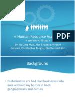 Human Resource Aspect