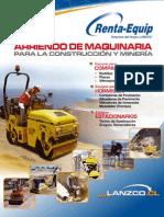 Lanzco Alisadora de Pavimento Catalogo de Arriendo de Maquinaria Para La Construccion y La Mineria 598273