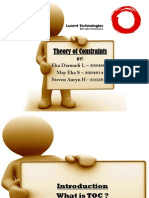 Theory of Constraints PPT