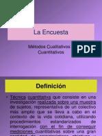 4. La Encuesta (Presentacion)