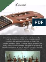 Instrumente cu corzi.