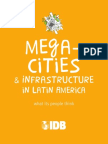 Mega Cities and Infrastructure in Latin America