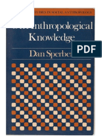 On Anthropological KnowledgeSPERBERDAN