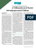 Estado de utilización del SIG en el sector silvoagropecuario chileno