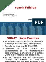08.01 Transparencia Pública