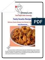 Penmai Snacks Recipes eBook