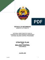 Moz Malaria Strategy