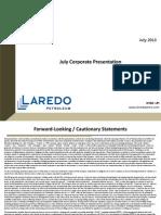 Laredo July2013 Presentation