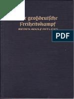 Bouhler, Philipp - Der großdeutsche Freiheitskampf - Reden Adolf Hitlers - Band 1 - vom 01.09.1939 bis 10.03.1940 (1940)