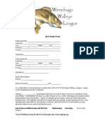 Walleye League Application
